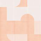 Retro Tiles 06 #redbubble #pattern by designdn