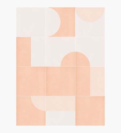 Retro Tiles 06 #redbubble #pattern Photographic Print