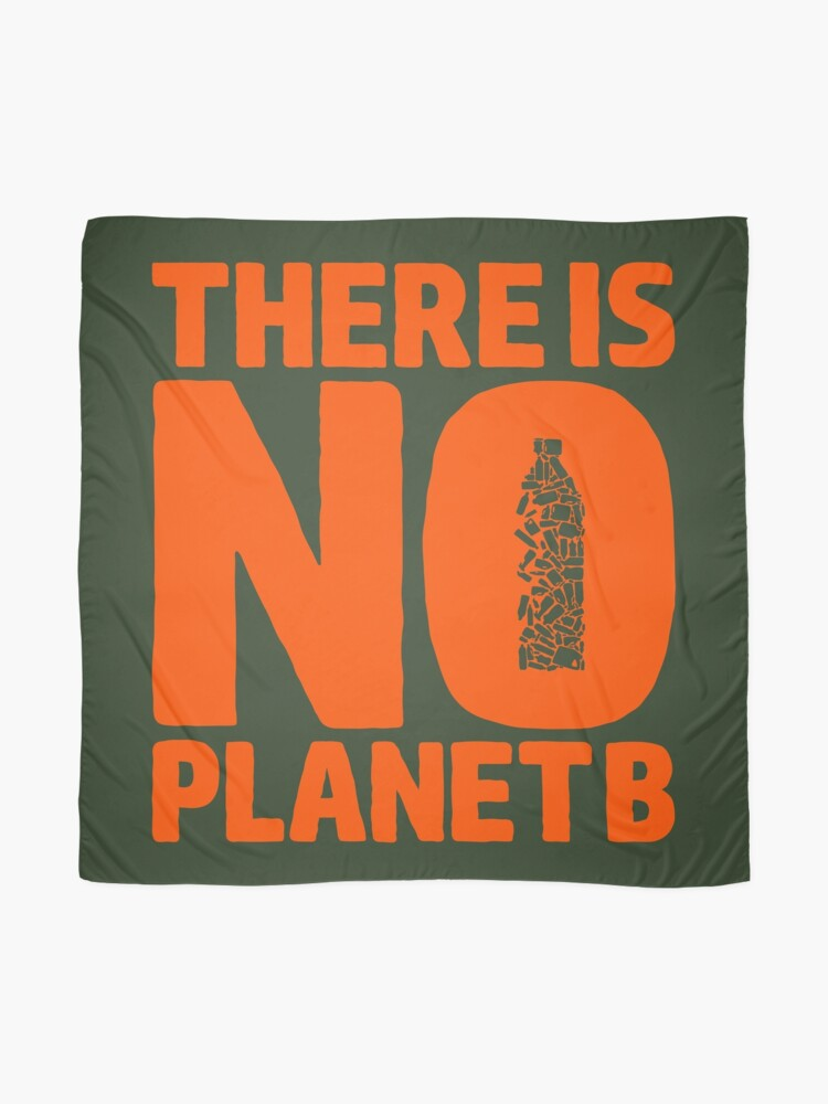 Alternate view of No Planet B Scarf