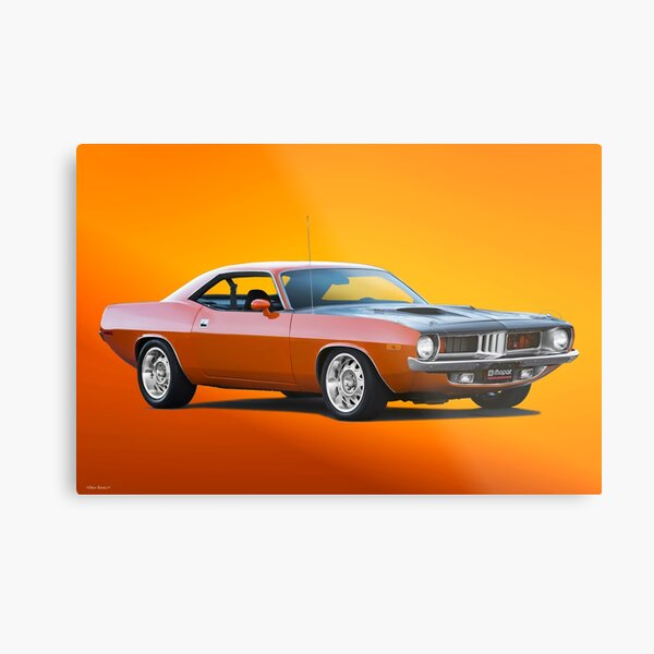 1972 Plymouth Barracuda 380 Metal Print