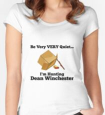 Dean Trap by @nekothesunshine on Twitter Women's Fitted Scoop T-Shirt