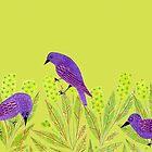 Starlings by MerryCox-Art