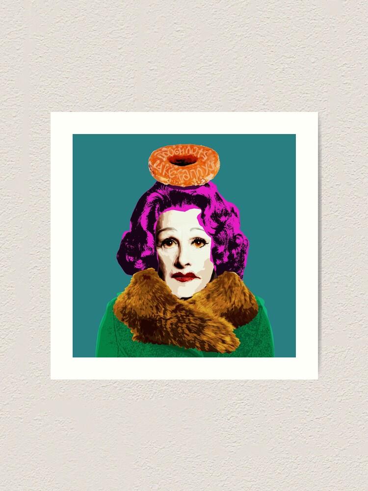 Alternative Ansicht von Donuts wie Fannys (Quadrat) Kunstdruck