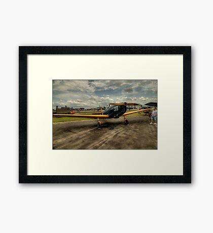 Two-Tone Monoplane Framed Print