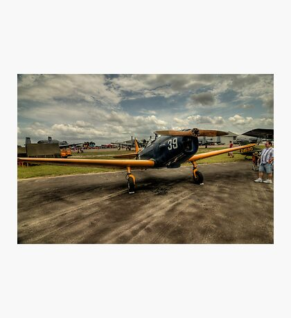 Two-Tone Monoplane Photographic Print