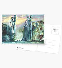 Zwei Könige von Altem Postkarten