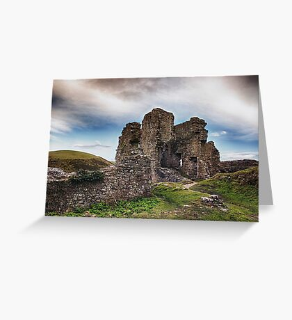 Castle In Ruins Greeting Card