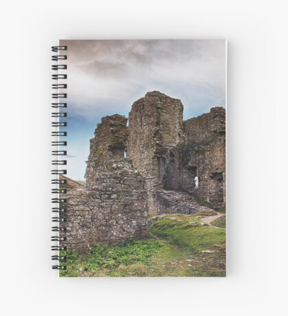 Castle In Ruins Spiral Notebook