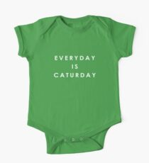 Everyday is Caturday One Piece - Short Sleeve