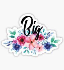 Sorority/ Fraternity Big Floral Sticker