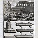 Diderot's Encyclopedia 1765: The Carpenter, Plate 1 by toolemera