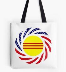 South Vietnamese American Multinational Patriot Flag Series Tote Bag