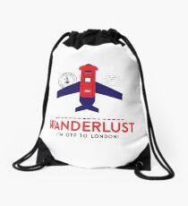 Royal Travel Drawstring Bag