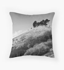 Colmers Hill -  Black and white Throw Pillow