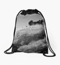 Colmers Hill -  Black and white Drawstring Bag