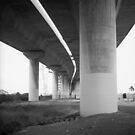 Westgate Bridge 3 by Andrew  Makowiecki