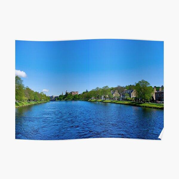 River Ness, Inverness-shire, Scotland Poster