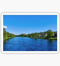 River Ness, Inverness-shire, Scotland Sticker