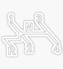 VW Shifter Pattern Sticker