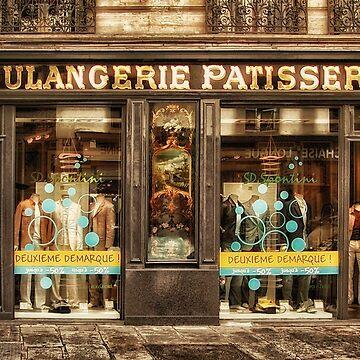 Le Marais - Boulangerie Patisserie à la Mode Encore by Kasia-D