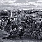 View over Corfe by Vicki Field