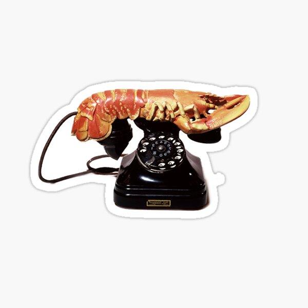 Lobster Telephone by Salvador Dalí Sticker