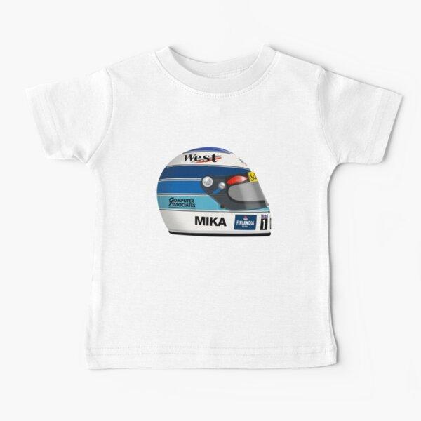Mika Hakkinen - Helmet Baby T-Shirt