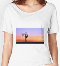 Prairie Dusk Women's Relaxed Fit T-Shirt