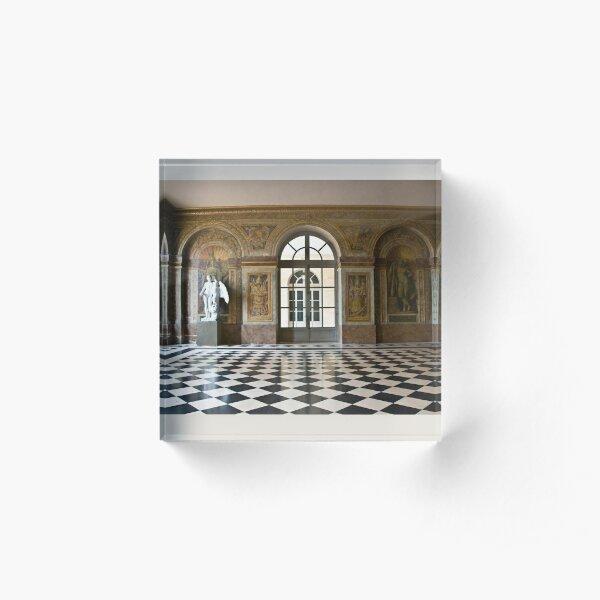 Salle des Hocquetons, Versailles Acrylic Block