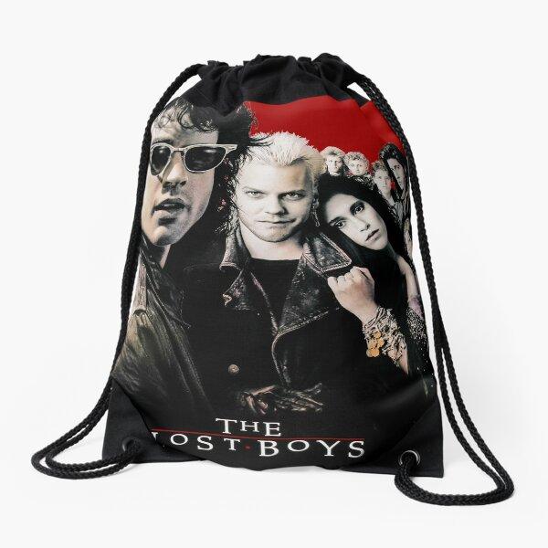 The Lost Boys Poster Inspired Artwork Drawstring Bag