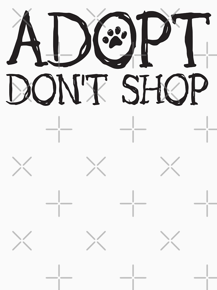Adopt Don't Shop Fun Paw Print Font by rescuedogs101