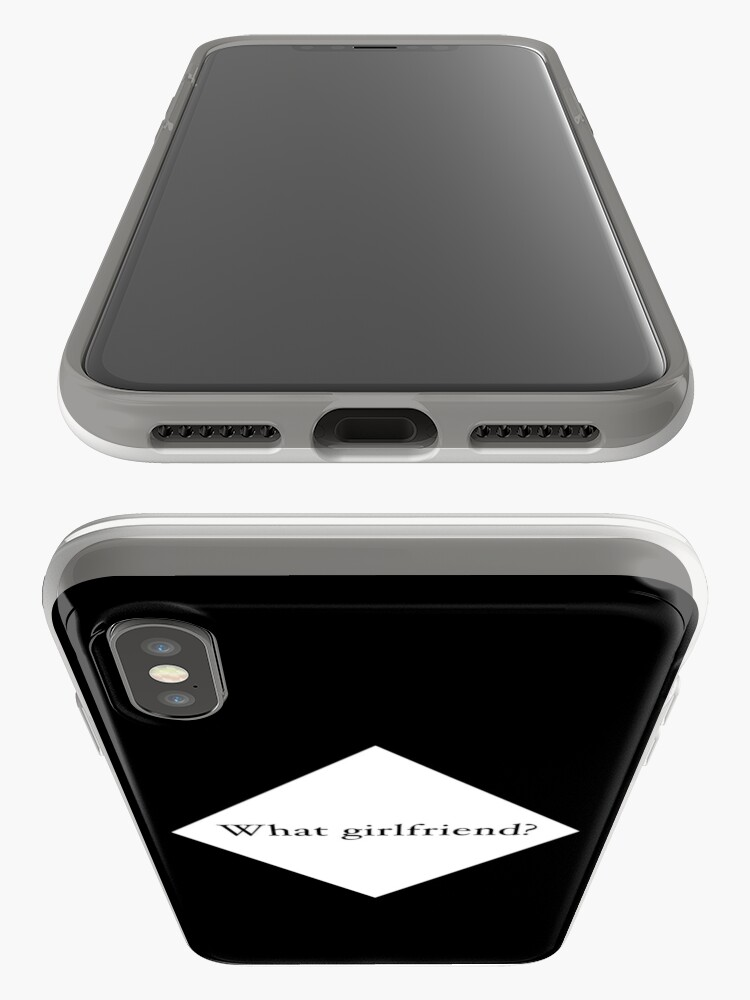 Alternate view of What Girlfriend Single (w) iPhone Cases & Covers