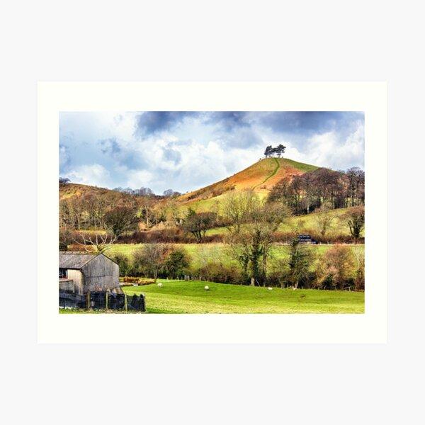 Colmers Hill Landscape Art Print