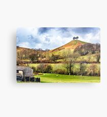 Colmers Hill Landscape Metal Print