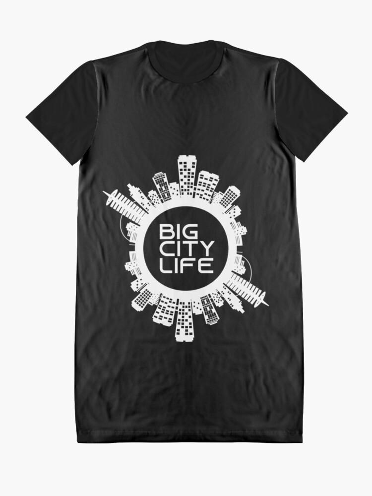 Alternate view of BIG CITY LIFE (w) Graphic T-Shirt Dress
