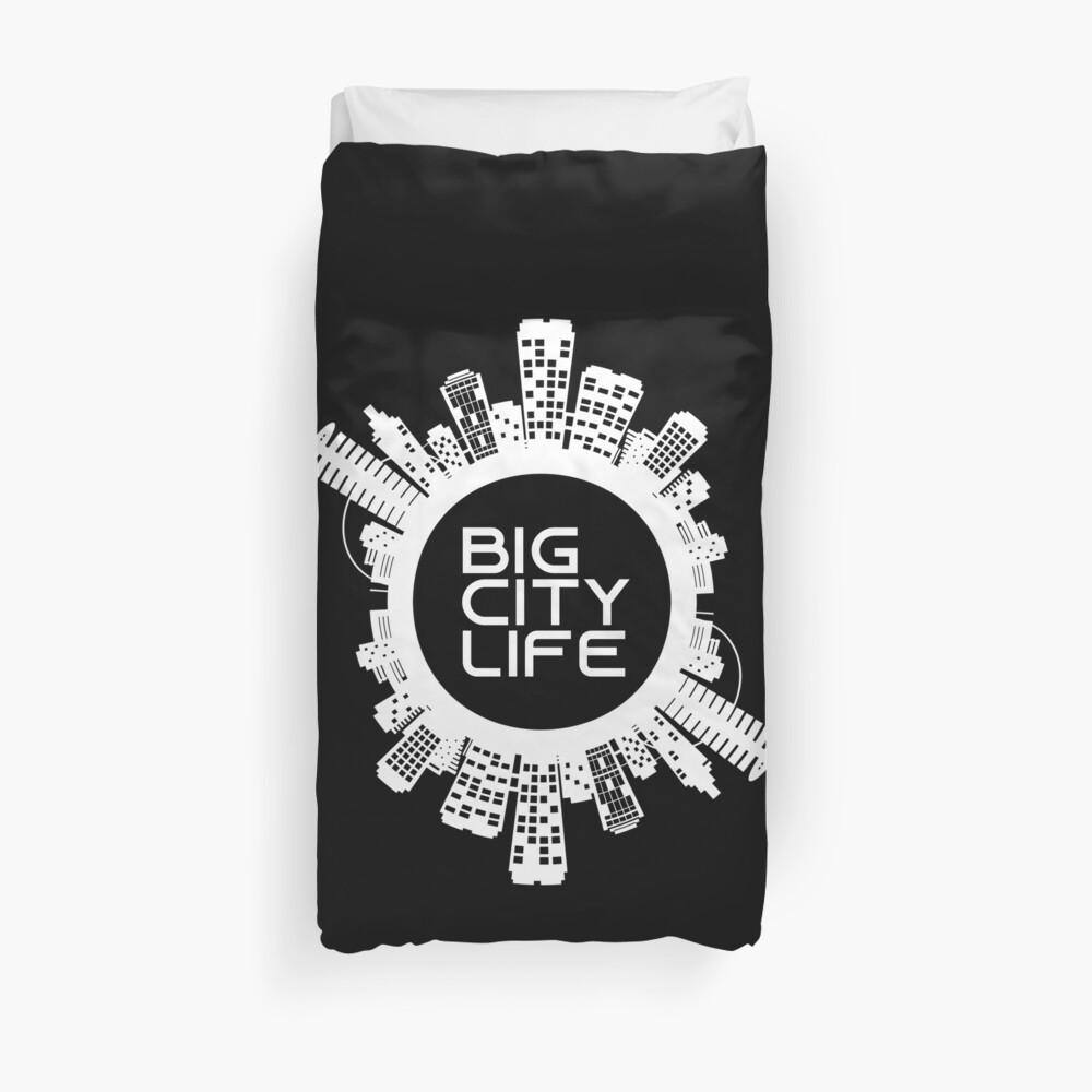 BIG CITY LIFE (w) Duvet Cover
