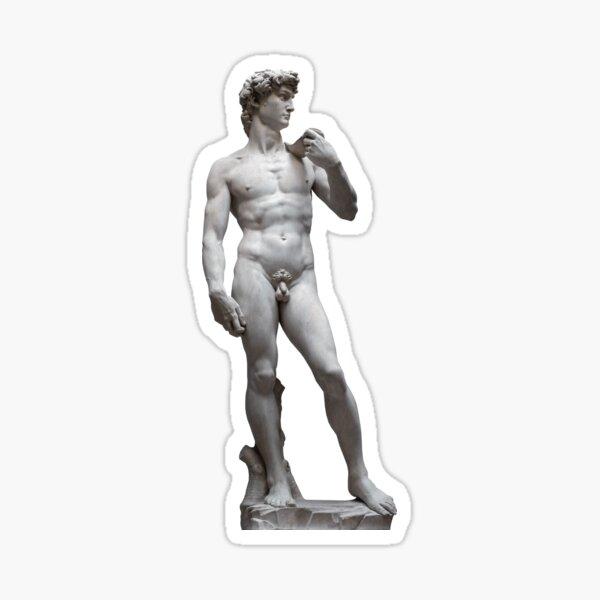David, Michelangelo Sticker