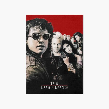 The Lost Boys Poster Inspired Artwork Art Board Print
