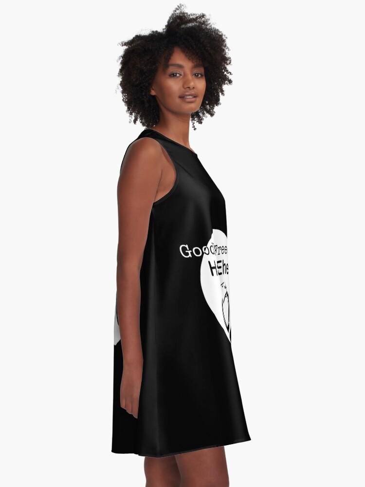 Alternate view of Goodbye Freedom Hello Marriage (w) A-Line Dress