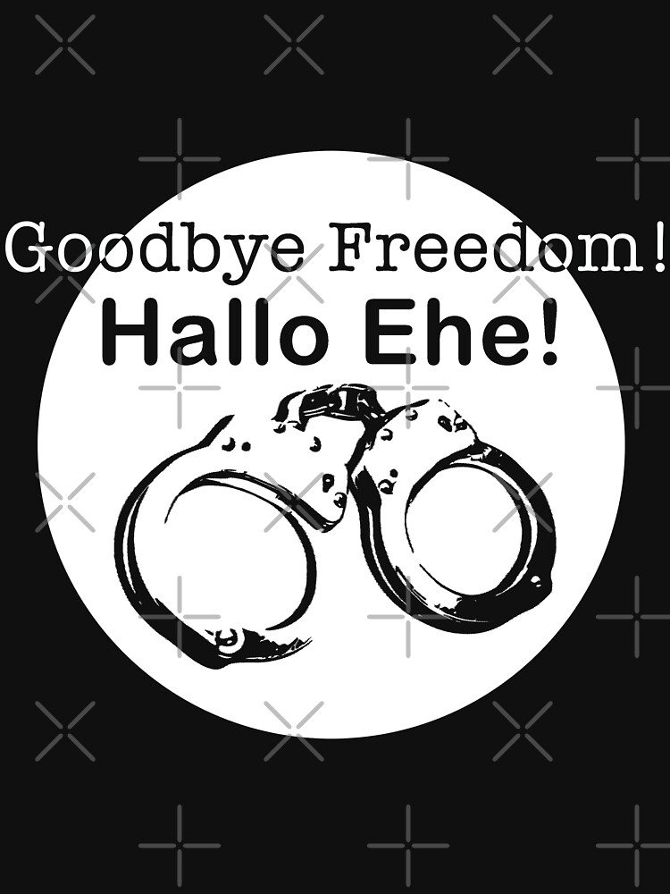 Goodbye Freedom Hello Marriage (w) by Pentamoby