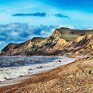 Coastline Cliffs by Vicki Field