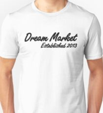 Dream Market Darknet Marketplace T-shirt Slim Fit T-Shirt