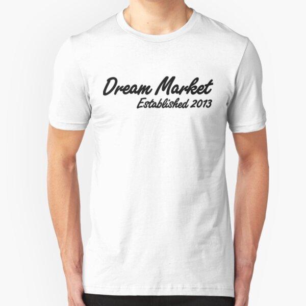 Dream Market Darknet Marketplace T-shirt Slim Fit T-Shirt