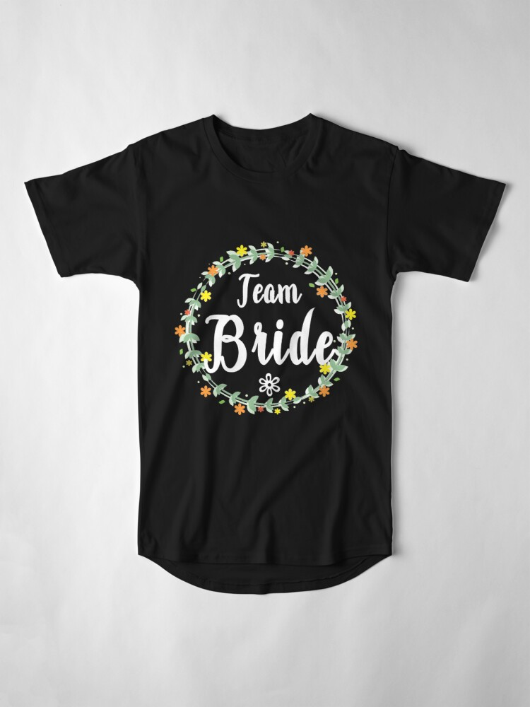 Alternate view of TEAM BRIDE V1 (w) Long T-Shirt