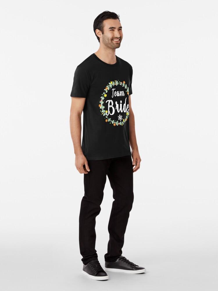Alternate view of TEAM BRIDE V1 (w) Premium T-Shirt