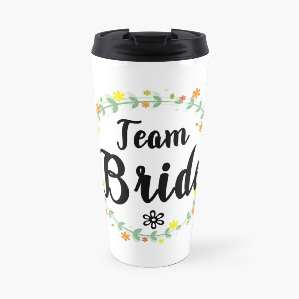 TEAM BRIDE V1 (b) Travel Mug