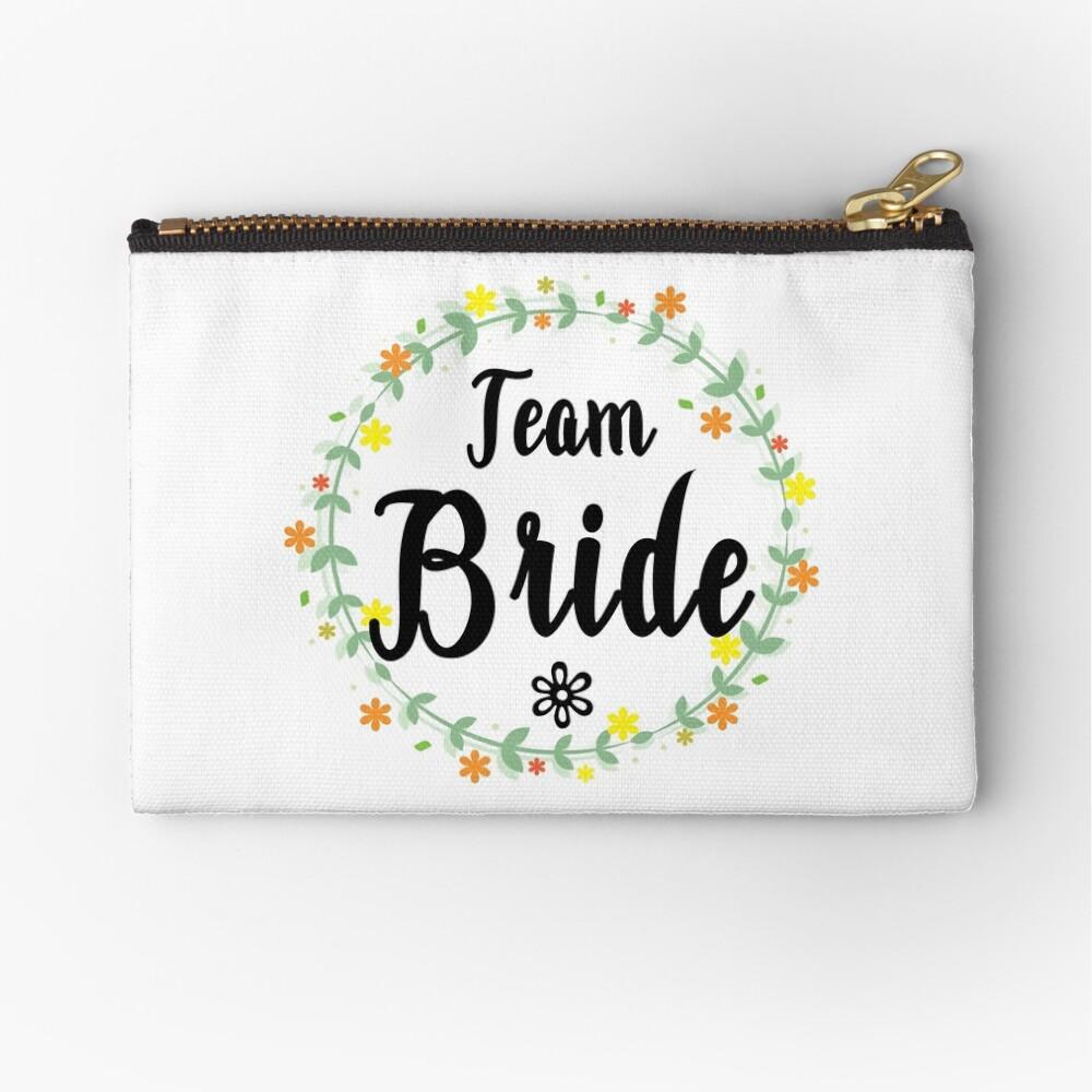 TEAM BRIDE V1 (b) Zipper Pouch