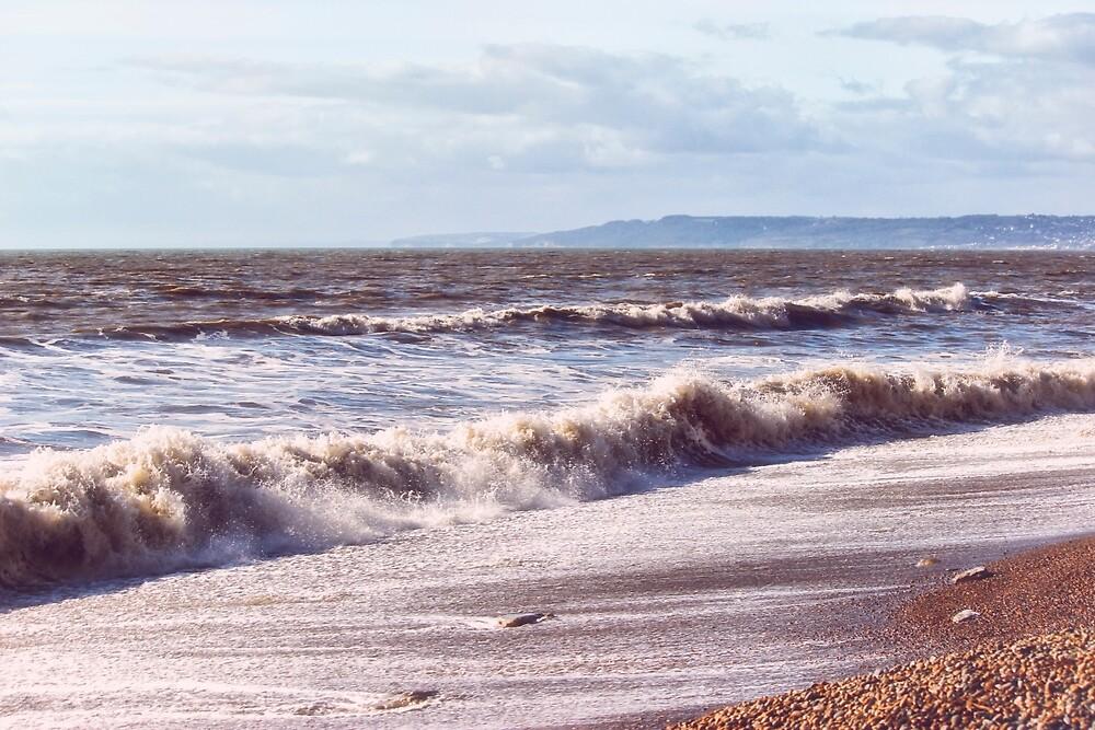 Crashing Waves by Vicki Field