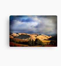 Wither Hills Autumn Afternoon Canvas Print