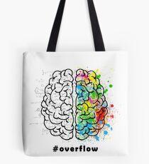 #Overflow Tote Bag